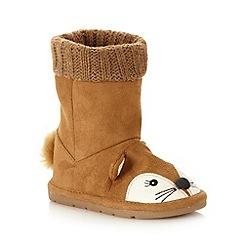 bluezoo - Girl's tan fox boots