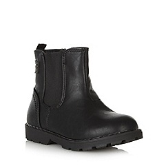 bluezoo - Boy's black ankle boots