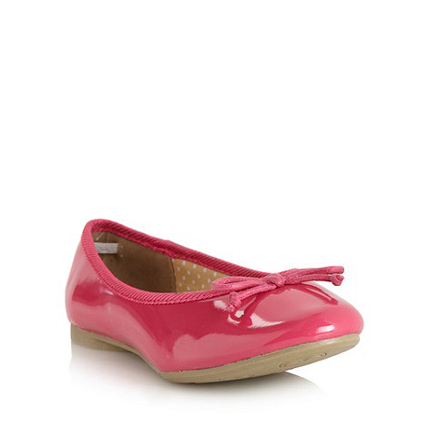 bluezoo - Girl+s pink patent pumps
