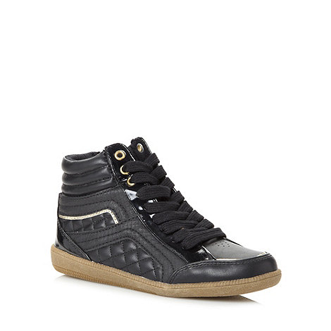 bluezoo - Black high top trainers