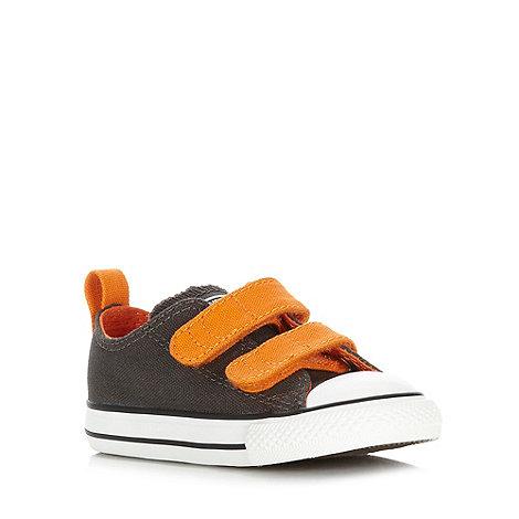 Converse - Children+s dark brown trainers