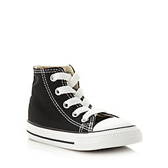 Converse - Children's black 'All Star' hi-top trainers