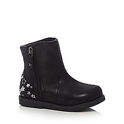 bluezoo - Girls' black ankle boots