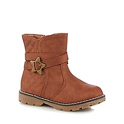bluezoo - Girls' tan ankle boots