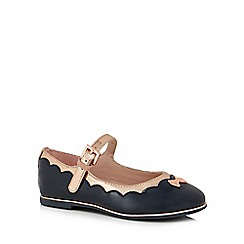 Baker by Ted Baker - Girls' navy pumps