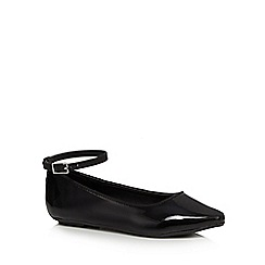 bluezoo - Girls' black patent pumps