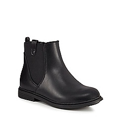 bluezoo - Girls' black Chelsea boots
