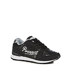 Pineapple - Girls' black trainers