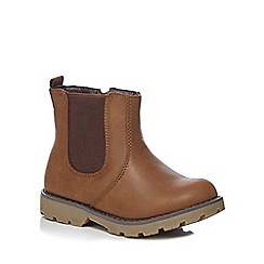 bluezoo - Girls' brown Chelsea boots