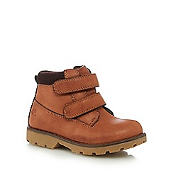 Mantaray - Boys' tan ankle boots