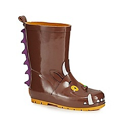 The Gruffalo - Dark brown 'Gruffalo' wellies