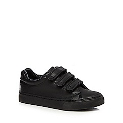 Debenhams - Boys' black trainers