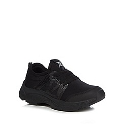 bluezoo - Boys' black trainers