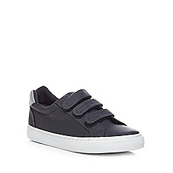 bluezoo - Boys' navy three tab trainers