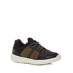 bluezoo - Boys' khaki trainers