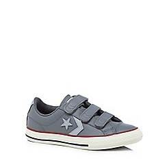 Converse - Boys' grey 'Star Player' trainers