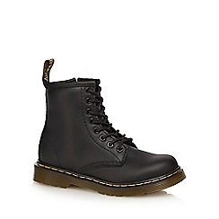 Dr Martens - Girls' black 'Delaney' signature boot