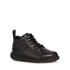 Dr Martens - Boys' black 'Parker J' boots