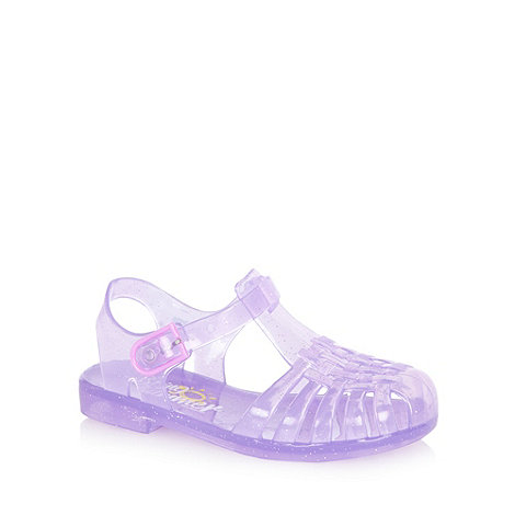 bluezoo - Girl+s purple jelly sandals