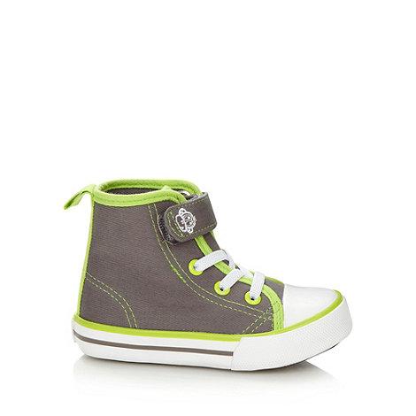 bluezoo - Boy+s grey canvas boots