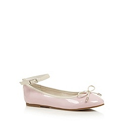 bluezoo - Girl's pink patent bow pumps