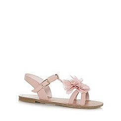 bluezoo - Girl's pink corsage sandals