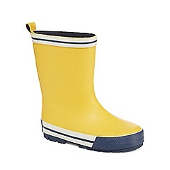 J by Jasper Conran - Boys' yellow wellies