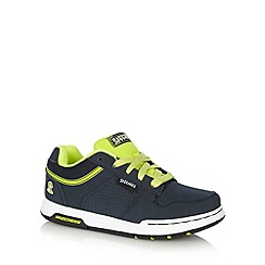 Skechers - Boy's lime mesh skate trainers