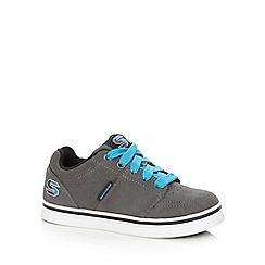 Skechers - Boy's grey 'Kelp' trainers