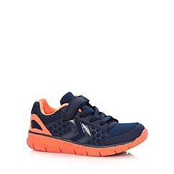 Hummel - Boy's orange 'CrossLite' trainers