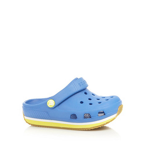 Crocs - Boy+s blue moulded +Crocs+