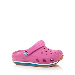 Crocs - Girl's pink moulded 'Crocs'