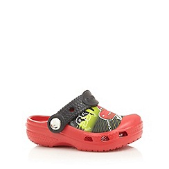 Crocs - Babies red 'Cars' clog