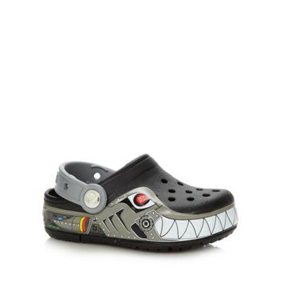 Black ´Robo cop´ design Crocs - . -