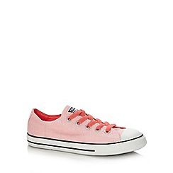 Converse - Girl's light pink 'All Star' trainers