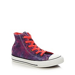 Converse - Girl's multi hi-top trainers