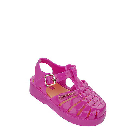 Ipanema - Girl+s pink jelly sandals