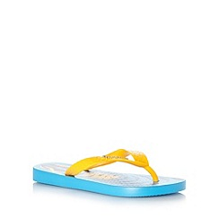 Ipanema - Boy's blue laces print flip flops