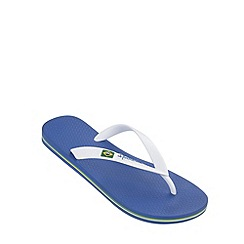Ipanema - Boy's blue Rio flag flip flops