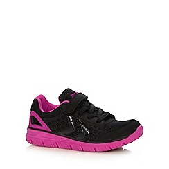 Hummel - Girl's pink 'CrossLite' trainers