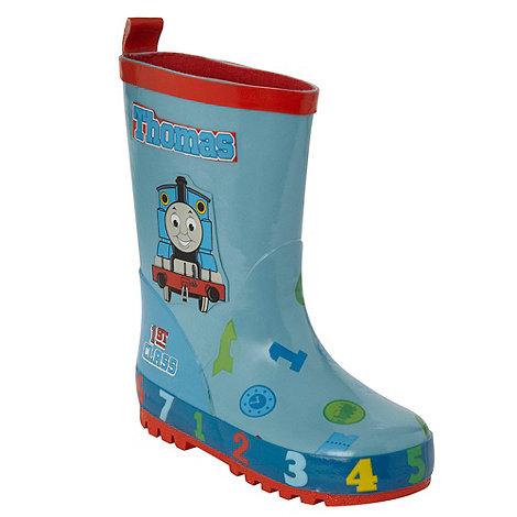 Character-Boy's blue Thomas wellington boots