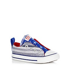 Converse - Children's blue chambray trainers
