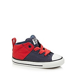 Converse - Boy's navy two tone 'All Star' canvas trainers