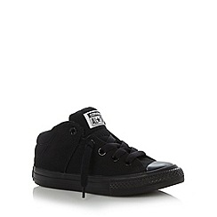 Converse - Boy's black 'All Star' padded trainers