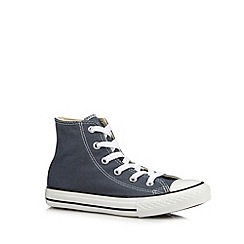 Converse - Boy's grey hi-top trainers