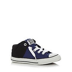 Converse - Boy's blue two tone 'All Star' padded trainers