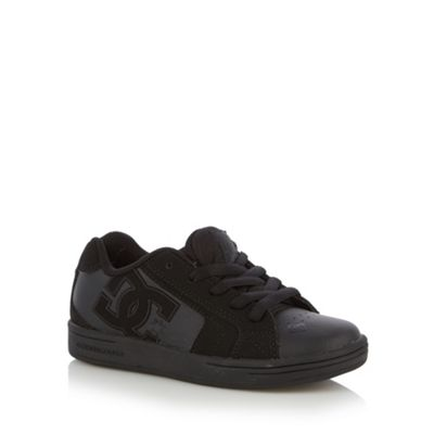 DC Boy´s black panel trainers - . -
