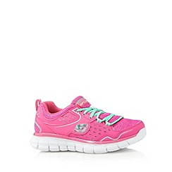 Skechers - Girl's pink 'Synergy' trainers