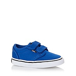 Vans - Boy's blue two tab canvas trainers