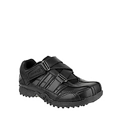 Skechers - Boy's black 'Urbantrack 2 Rage' smart shoes